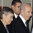 With President Peres at General Assembly Photo: Reuters
