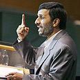 The censor. Ahmadinejad Photo: Reuters