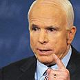 McCain. 'We'll never allow a second Holocaust' Photo: AP