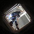 Smuggling tunnel on Gaza-Egypt border Photo: AP