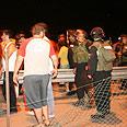Police forces in Akko Photo: Shai Vaaknin