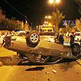 Akko riots on Yom Kippur (archives) Photo: AFP