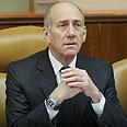 Olmert. Ready for battle? Photo: Gil Yohanan