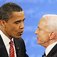 Multitude of challenges. Obama and McCain Photo: AFP