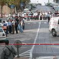 Terrorist caught by citizen, inspector Photo: Gil Yohanan