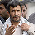 Peace-seeker. Ahmadinejad Photo: AP