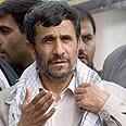Peace-seeker. Ahmadinejad Photo: AP