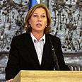 Livni. 110 days away from elections? Photo: Gil Yohanan
