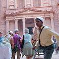 Tourists flock to Petra Photo: Ivy Lerer