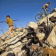 Destruction in Gaza after IAF strike (Archives) Photo: AP