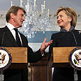 Secretary Clinton with France's Kouchner Photo: AP