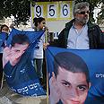 Rallying for Shalit Photo: Gil Yohanan
