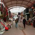 Antalya bazaar standing empty during boycott Photo: Danny Sadeh