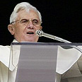 Pope Benedict XVI. Official announcement Photo: Reuters