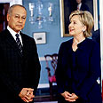 Abul Gheit and Clinton Photo: AP