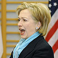 US Secretary of State Clinton Photo: AFP