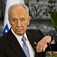 'Promising beginning.' Peres Photo: AFP