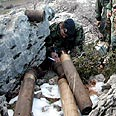 Katyusha rockets cache in Lebanon (archives) Photo: AFP