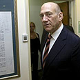 Olmert, to decide on course of treatment Photo: Reuters