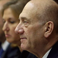 Livni, Olmert Photo: AP