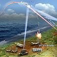 Arrow missile test Photo courtesy of Israel Aerospace Industries