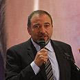 Lieberman on Tuesday Photo: Gil Yohanan