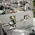 Demolished Palestinian home in east Jerusalem Photo: AFP