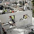 Demolished Palestinian home in east Jerusalem Photo: AFP