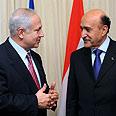 Suleiman with Netanyahu Photo: Amos Ben Gershom, GPO