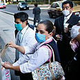 Fears of infection in Mexico City Photo: AFP