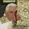 Pope Benedict in Jordan Photo: Reuters