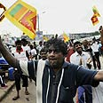 Sri Lankans celebrate rebels' surrender (archives) Photo: AFP