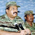 Rebel leader Prabhakaran (archives) Photo: AFP