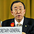 Ban Ki-moon Photo: AFP