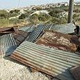 Area of separation fence near Hizma Photo: Salva Yusim