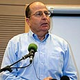 Ya'alon - 'From the ground up' Photo: Dudi Vaaknin