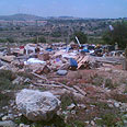 Mitzpe Avichai this morning Photo: Efrat Weiss