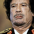 Gaddafi. Rejected all around Photo: AFP