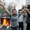 Tehran riots after 2009 election Photo: Faramarz Hashemi