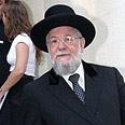 Former Chief Rabbi Yisrael Meir Lau Photo: Anat Mosberg