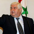 Syrian Foreign Minister Walid al Muallem Photo: AFP