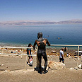 Tourists at the Dead Sea Photo: Reuters