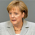 Merkel, focusing on Israel and Iran Photo: AFP