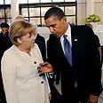 In agreement. Merkel and Obama Photo: AFP