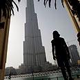 Dubai Tower. Inauguration at end of year Photo: AP