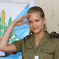 Private Esti Ginzburg. 'A duty, not a choice' Photo: Eliran Avital