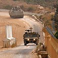 IDF tanks patrol Lebanon border (Archive) Photo: AFP