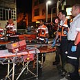 10 wounded in shooting Photo: Yaron Brener