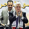 Abbas slams Israel, Hamas Photo: AP