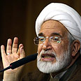 Opposition leader Mehdi Karoubi Photo: AFP